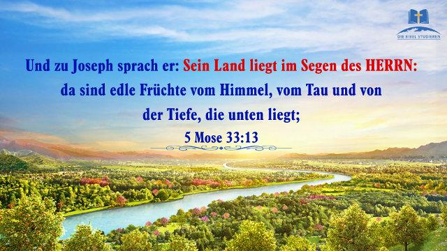 Bibelverse Segen