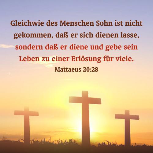 Matthäus 20 28