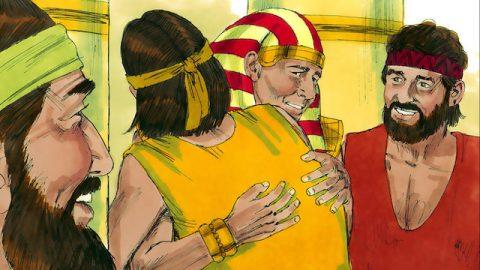 Die biblische Geschichte - Joseph gibt sich seinen Brüdern zu erkennen