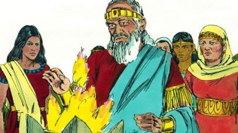 Die biblische Geschichte - Salomo - Niedergang und Untergehen