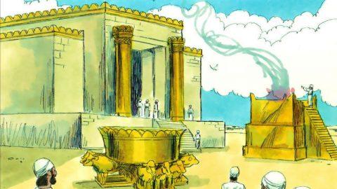Die biblische Geschichte – Salomo baute das Haus und vollendete es