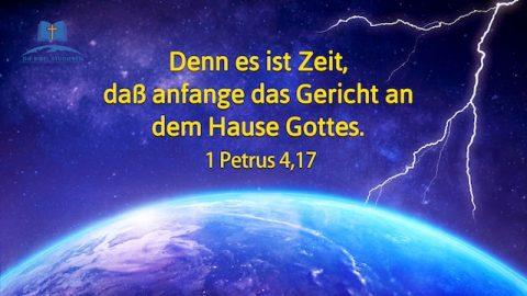 Biblische Prophezeiungen | Das Gericht