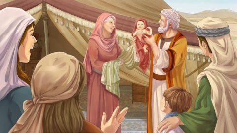 """Die Ernte aus der Geschichte von """"Abraham opferte Isaak"""""""