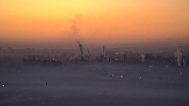 Die Luft ist verschmutzt