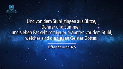Biblische Prophezeiungen | Der Blitz