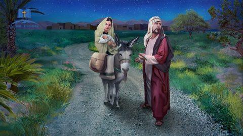 Biblische Geschichte | Die Flucht nach Ägypten