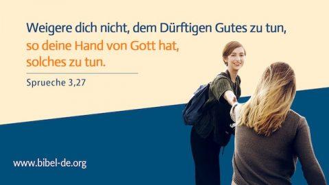 Bibelverse - Gute tun