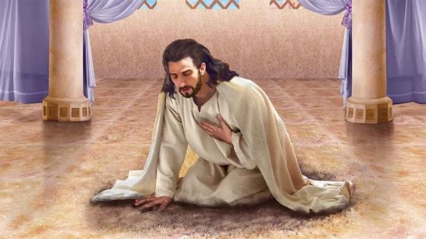 Die Reue vom Koenig Ninives gewinnt Jehova Gottes Lob