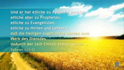 """Bibelverse - """"Weiden"""""""