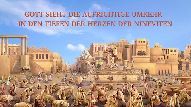 Gott, Ninive