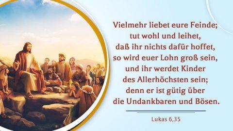 Bibelverse - Den Feind lieben