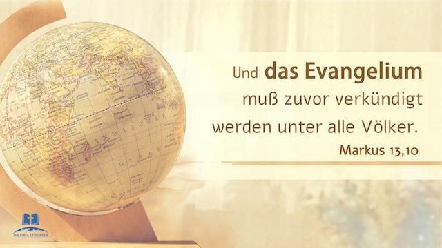 Evangelium Markus 10 13 16