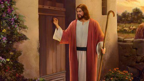 Wie sollen wir den Herrn begrüßen, wenn Er an die Tür klopft