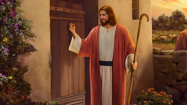 Jesus kommt, Jesus klopft an die tür