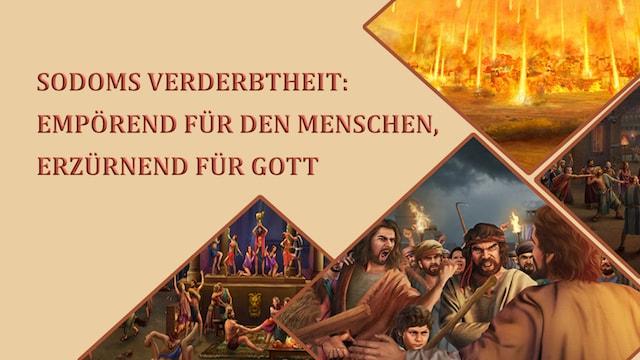 der Leute von Sodom