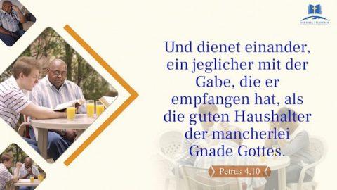 Bibelverse über das Dienen