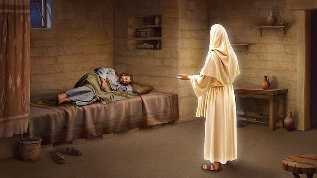 Joseph, du Sohn Davids, fürchte dich nicht, Maria, dein Gemahl, zu dir zu nehmen
