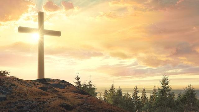 Kreuz und Licht