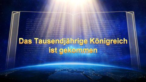 Das tausendjährige Königreich ist gekommen