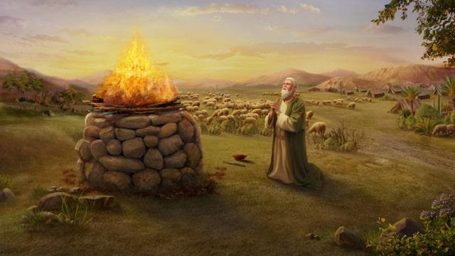 Der Zusammenhang Zwischen Gottes Auslieferung Von Hiob An
