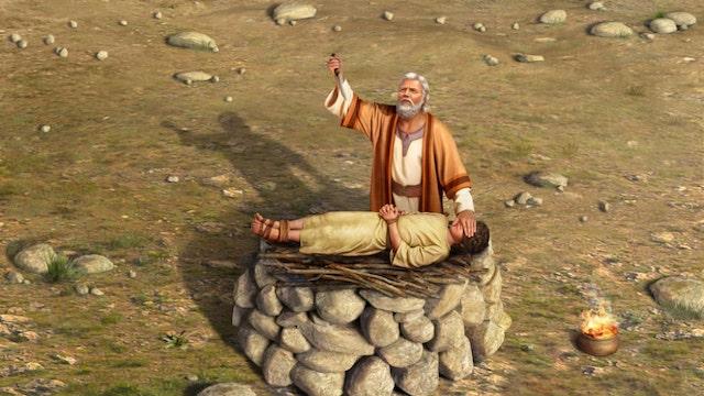 Opfer Abrahams und Isaaks