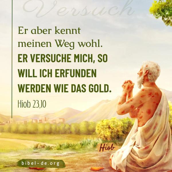 Gottes Prüfung, Prüfungen sollen unseren Glauben in Gott stärken