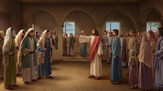 Jesus die Pharisaeer