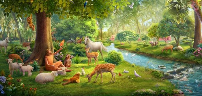 Paradies Garten Eden