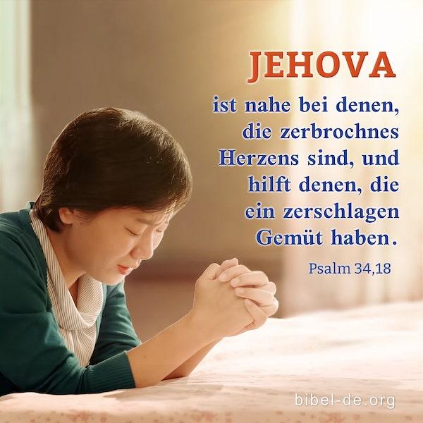 christin betet zu Gott