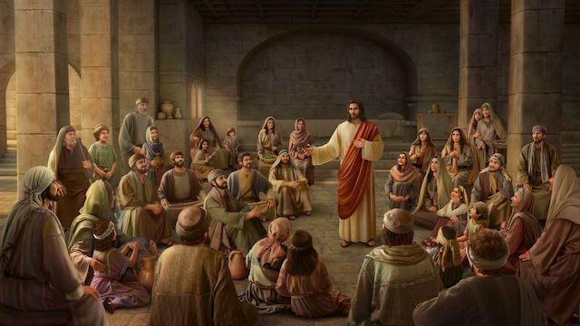Herr Jesus und seine Jünger