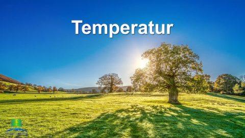Die grundlegende Lebensumgebung, die Gott für die Menschheit schafft–Temperatur