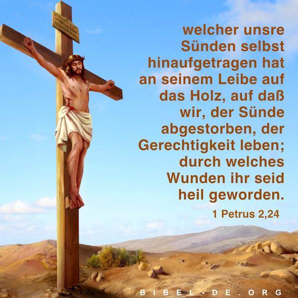 Der Herr Jesus wurde gekreuzigt