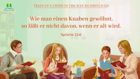 Bibelverse - Kindererziehung