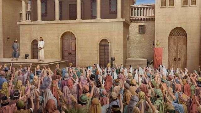 Jesus und Pilatus