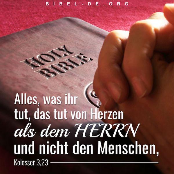 zu Gott beten