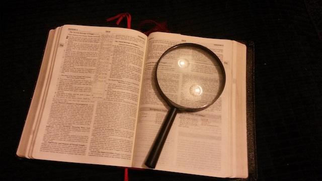 die bibel studieren