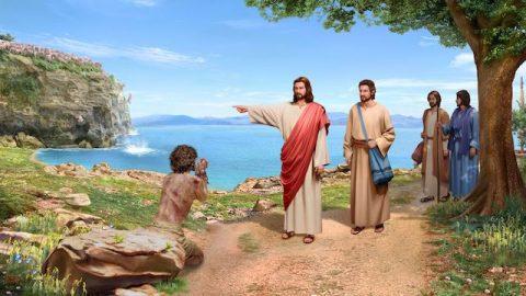 Der Herr Jesus treibt Dämonen aus