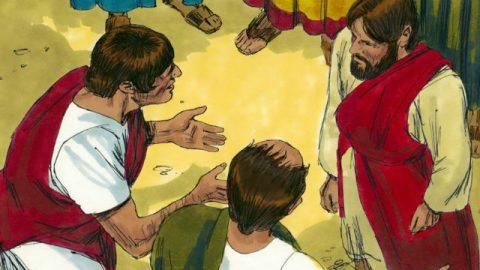 Der große Glaube des Zenturios - Biblische Geschichte