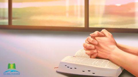Wie betet man, es könnte wahres Gebet sein?