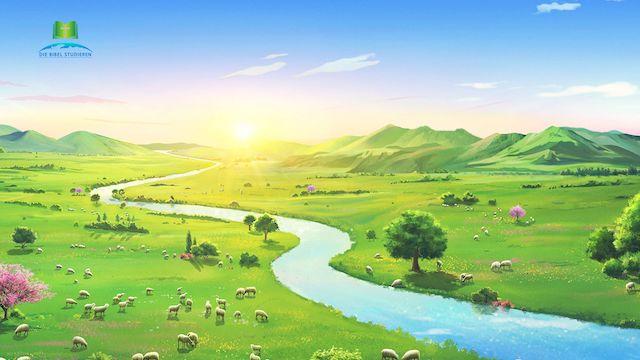Wenn du den spirituellen Körper Jesu erblickst, dann hat Gott Himmel und Erde von Neuem gemacht