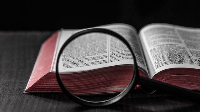 die bibel studieren, Fehler in der bibel