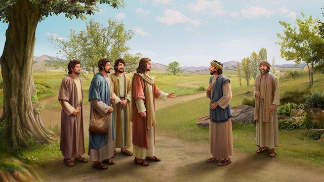 Nathana akzeptiert das Evangelium