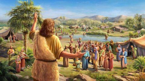 Die Mission von Johannes dem Täufer - Bibelgeschichte