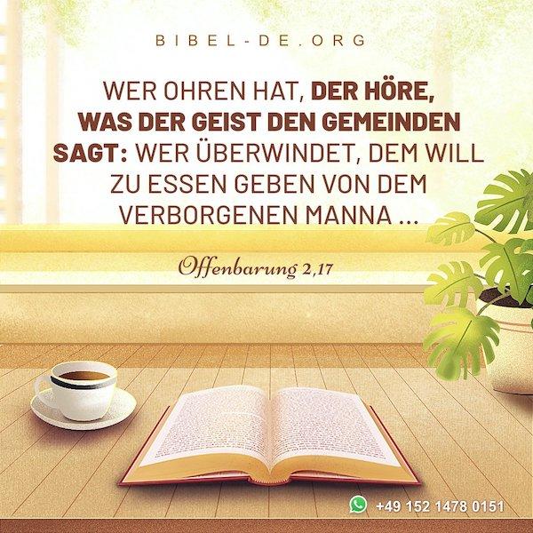 Offenbarung 2,17