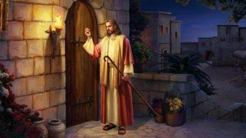 Wie sollen wir Jesus Christus willkommen heißen, wenn er an die Tür klopft?